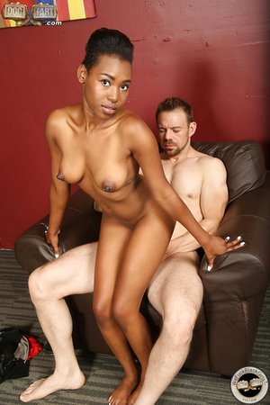 Ashton Devine gets fucked for the first time on camera by her first white knob