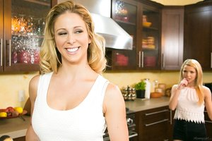 Blonde lady Cherie DeVille seduces her beautiful stepdaughter Alina West