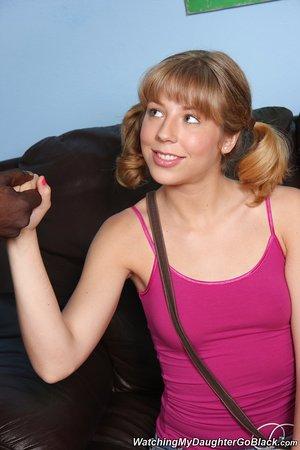 Wonderful teen Chastity Lynn got blacked at the office by a Byron Long