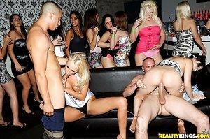 Tipsy doll Ivana kisses girlfriend before she fucks a big knob at bachelorette party