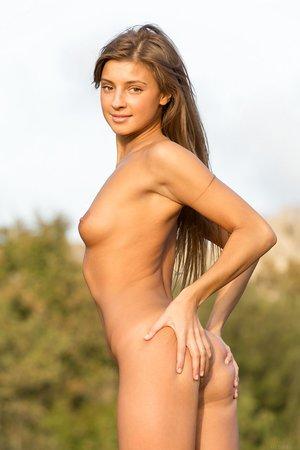 Melena A nudes long legs