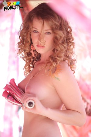 Gorgeous hot redhead Kimber Day bares her perfect bod for doggystyle smashing