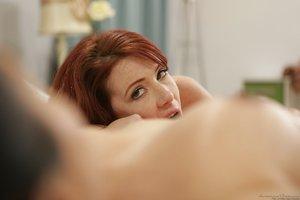 Hot lesbians Dana Vespoli & Bree Daniels caught kissing & pussy licking