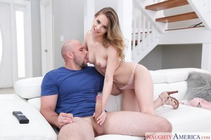 Cheating wife Jillian Janson takes a large dick up her muddy asshole