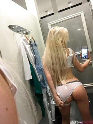 Young blonde girl Kenzie Reeves gets banged after stepdad catches her sexting