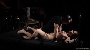Dame slave Antonia Sainz is savagely used as a penetrate toy by her Master