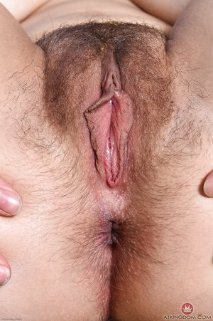 Hairy first timer Sailor Luna finger spreads her bush until the pee flows