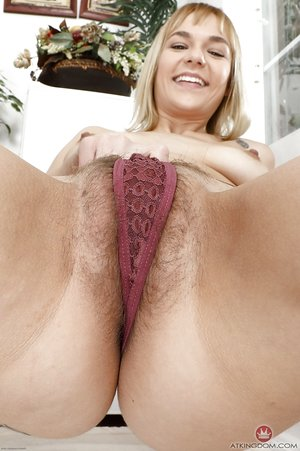 Cute young fledgling Sailor Luna shows furry cameltoe & uncovers her hairy twat