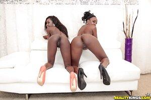 Black 18+ lesbian naked photo